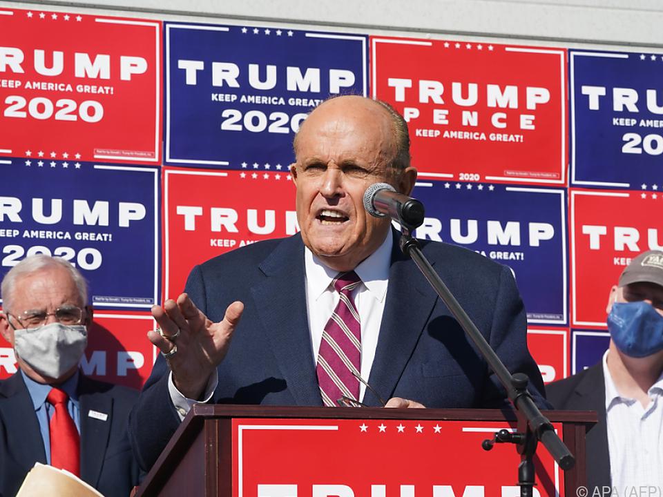 Trump-Anwalt Rudy Giuliani