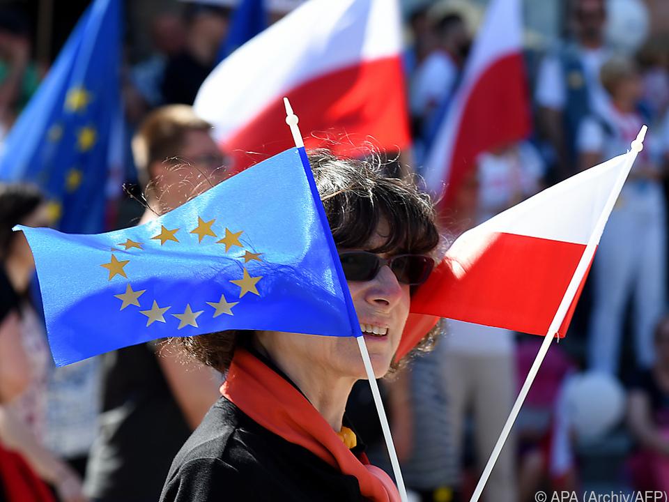 Uneinigkeit zwischen der EU und Polen