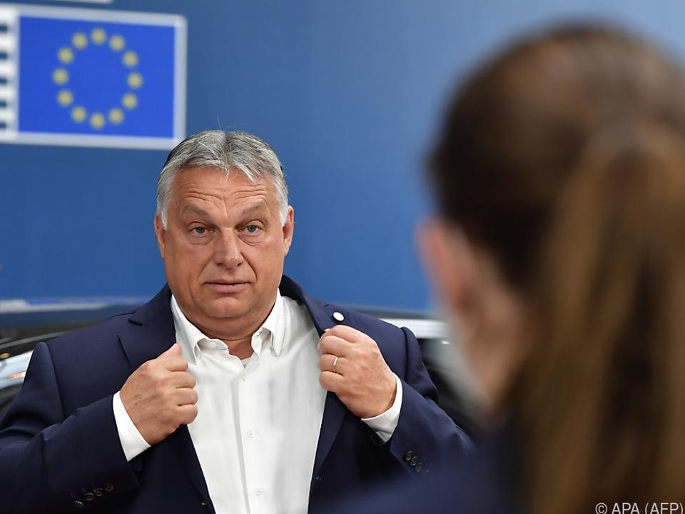 Ungarischer Ministerpräsident Orban stellt sich in Migrantenfrage stur