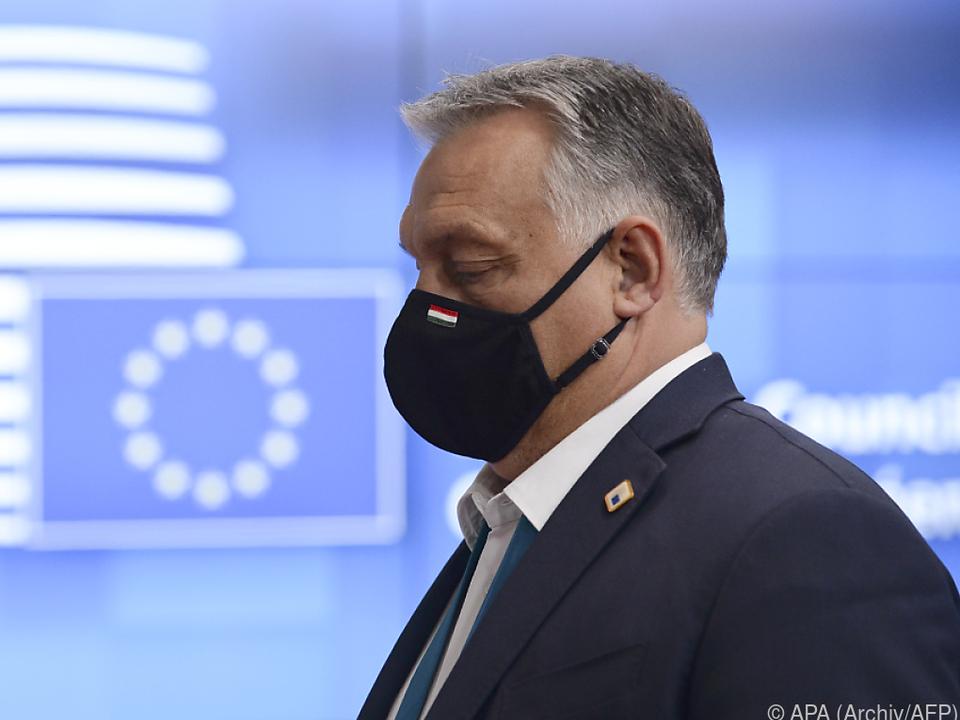 Ungarns Premier Orban wehrt sich gegen Konditionalitätsregelung