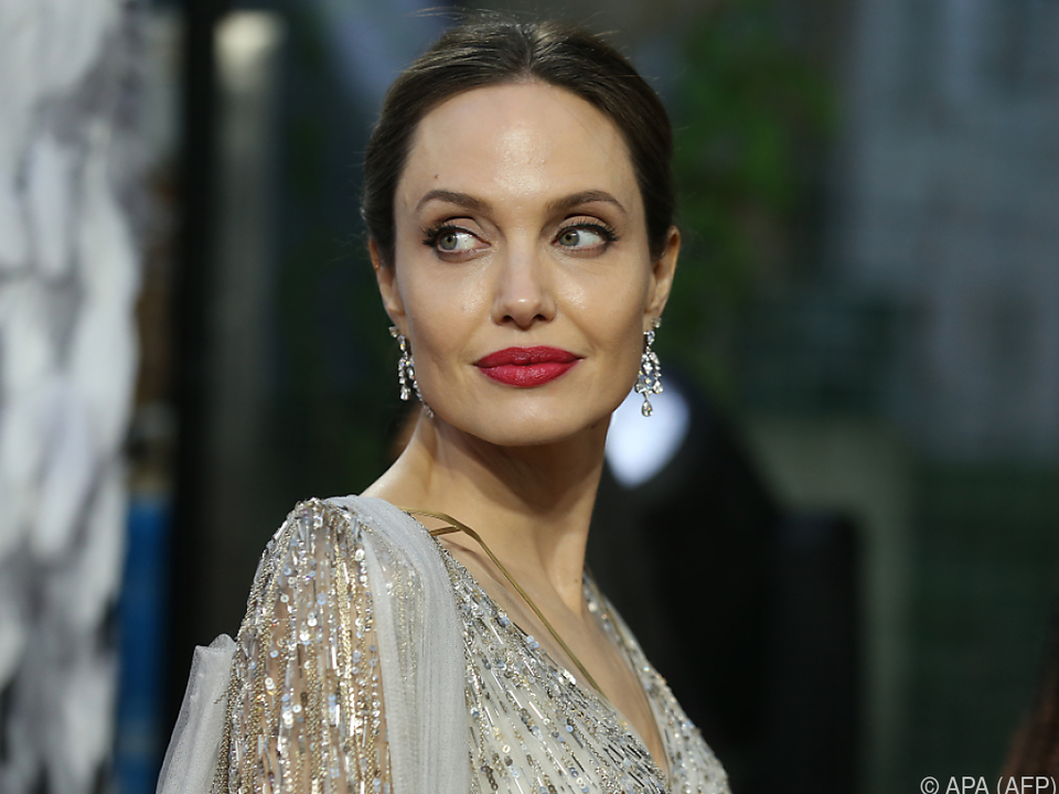Hollywoodstar Angelina Jolie