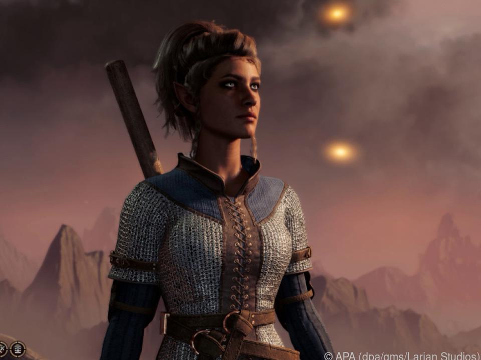 Spieler können mit vorgefertigtem oder selbst erschaffenem Charakter spielen