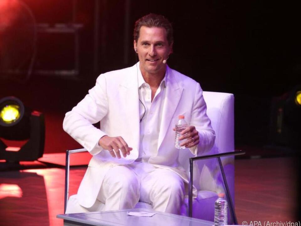 Viel soziales Engagement von McConaughey