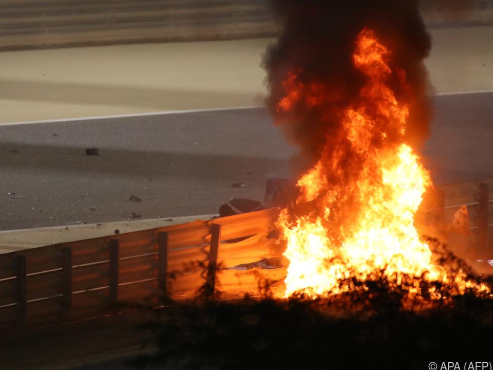Viele Fragen zum Feuerunfall von Bahrain sind noch unbeantwortet