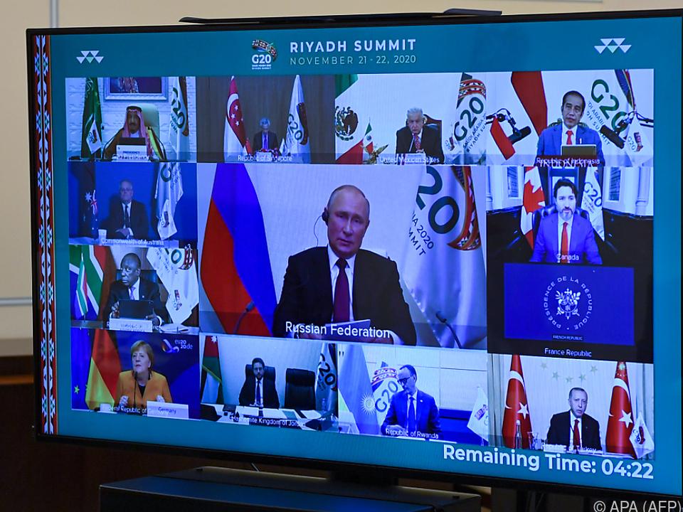Virtueller G-20-Gipfel