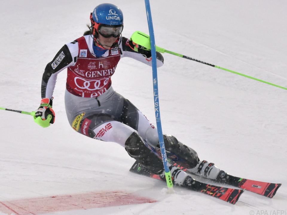 Vlhova gewann beide Rennen in Levi