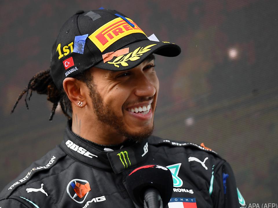 Weltmeister Lewis Hamilton ist noch immer hungrig