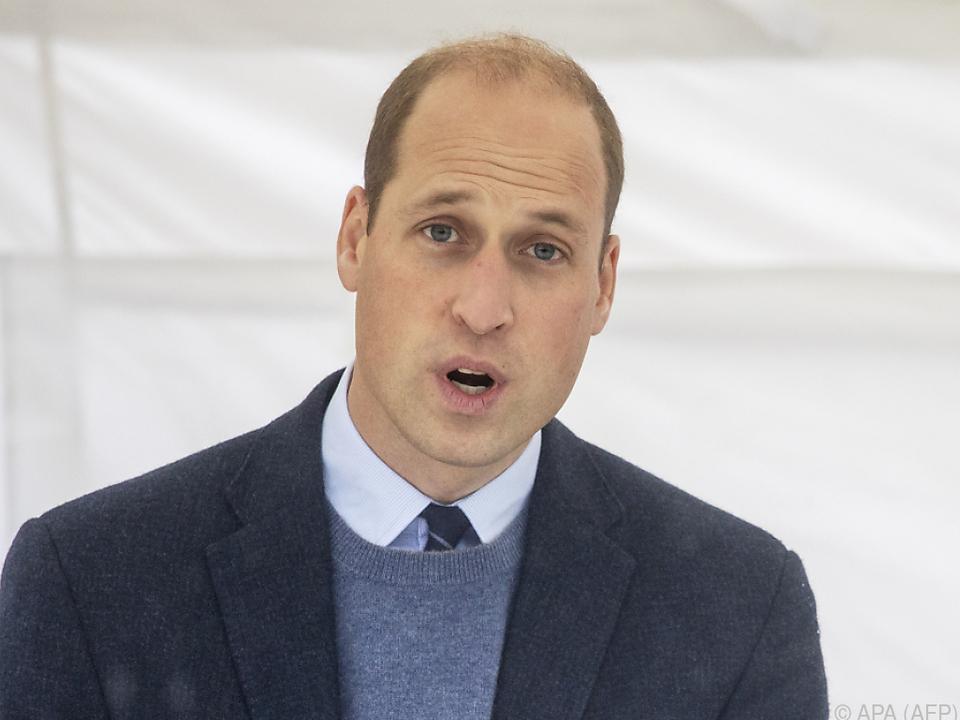 William wollte Bevölkerung nicht verunsichern