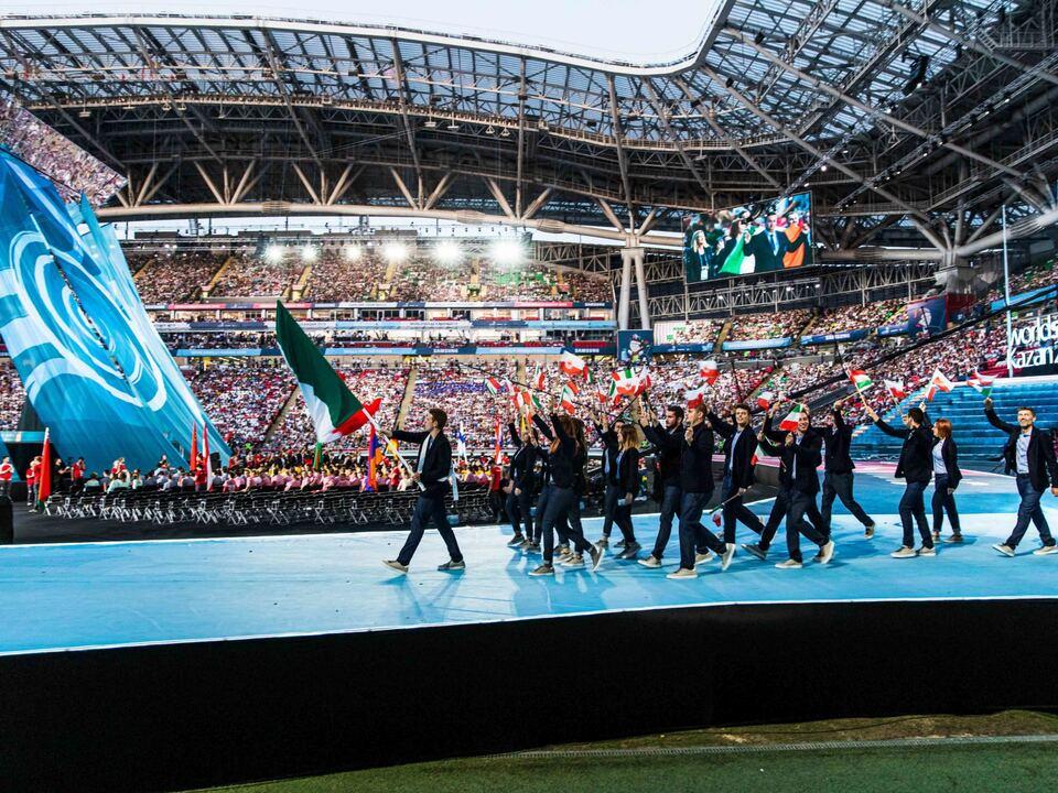 WorldSkills Kazan 2019_Eröffnungsfeier