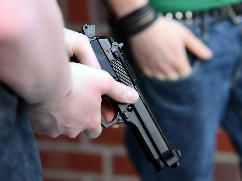 Pistole Schreckschusspistole