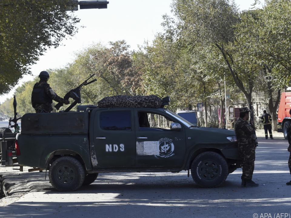 Zahlreiche Sicherheitskräfte waren im Einsatz
