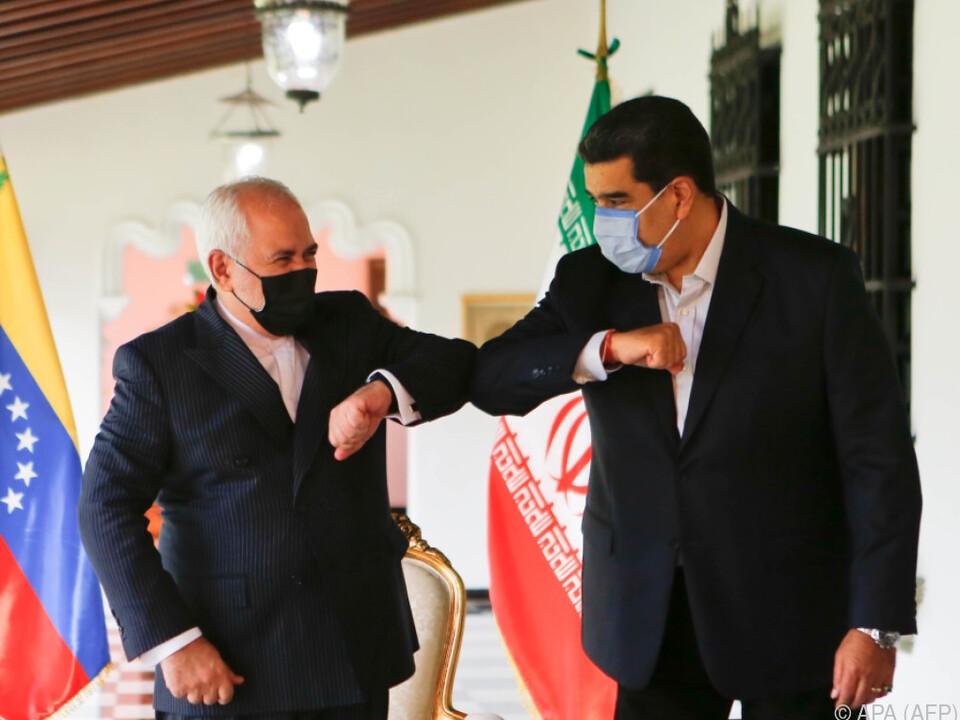 Zarif bei Maduro in Caracas zu Gast