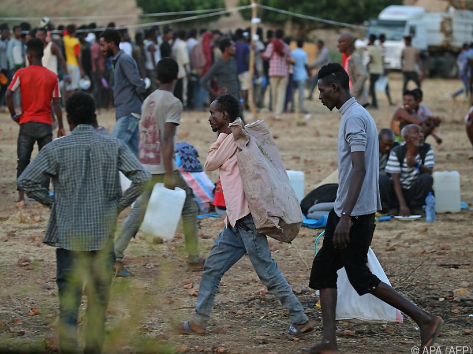 Zehntausende in Äthiopien auf der Flucht