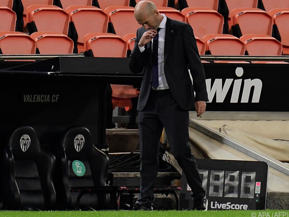 Zidane war ratlos