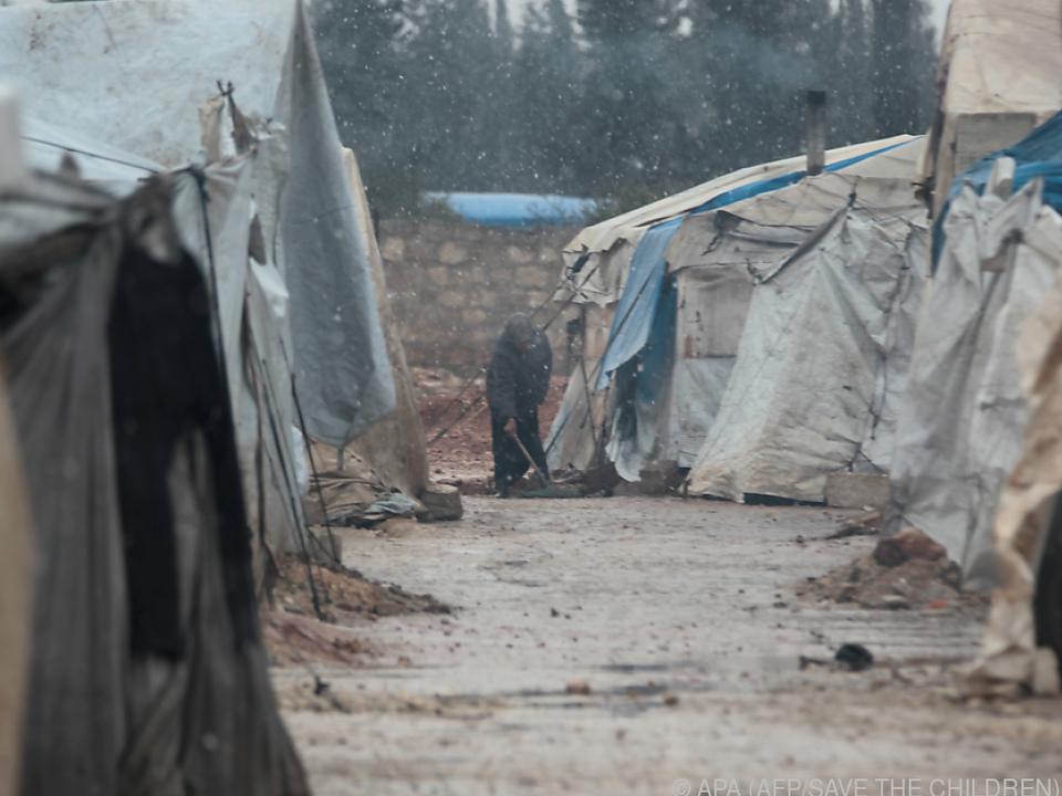 Zu den gefährlichsten Ländern für Kinder 2019 gehörte u.a. Syrien