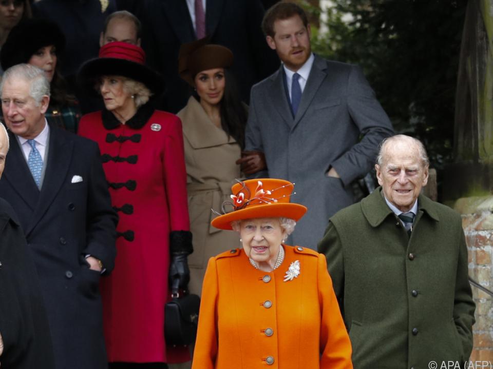 2021 dürfte für die britischen Royals auch spannend werden