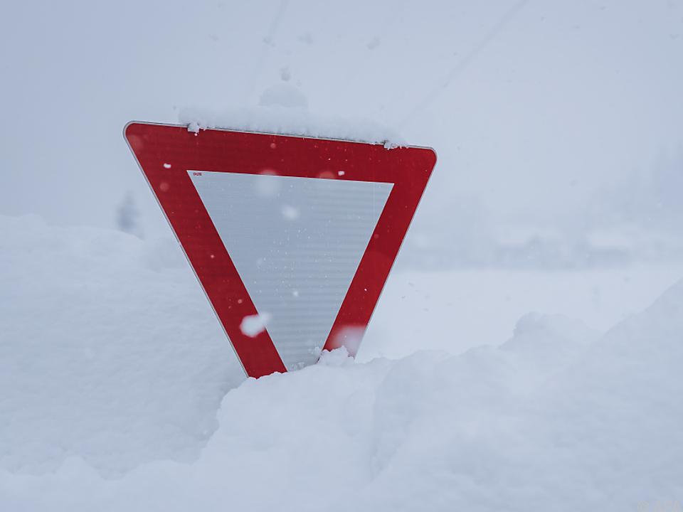 Skitourengeher löste Schneebrett aus