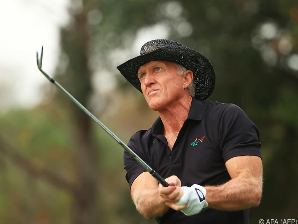 Golf-Legende Greg Norman mit einer Corona-Infektion im Krankenhaus