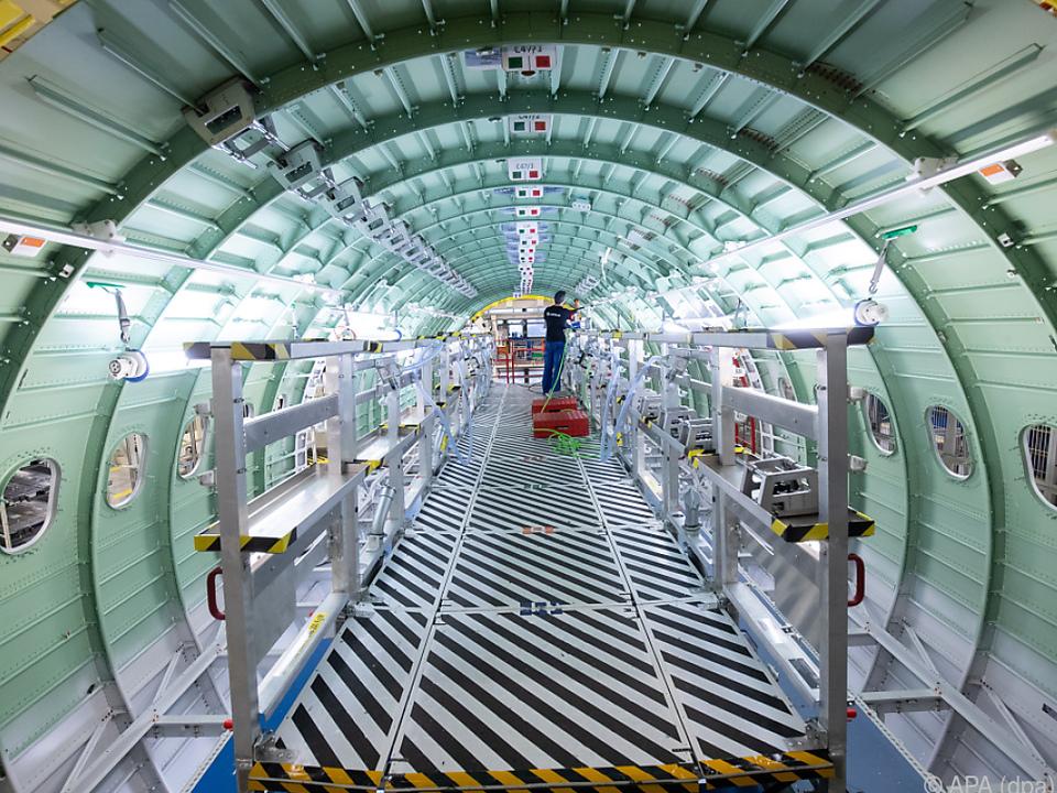 Airbus lieferte rund 550 Flieger heuer aus