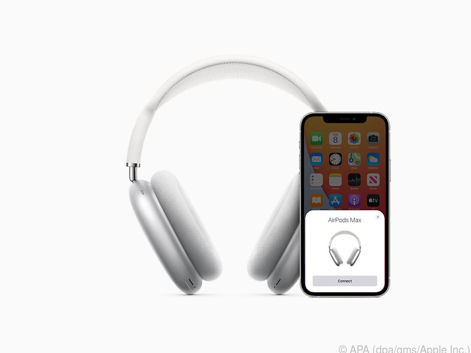 Nur mit iPhone oder iPad gekoppelt bieten die Airpods Max alle Funktionen