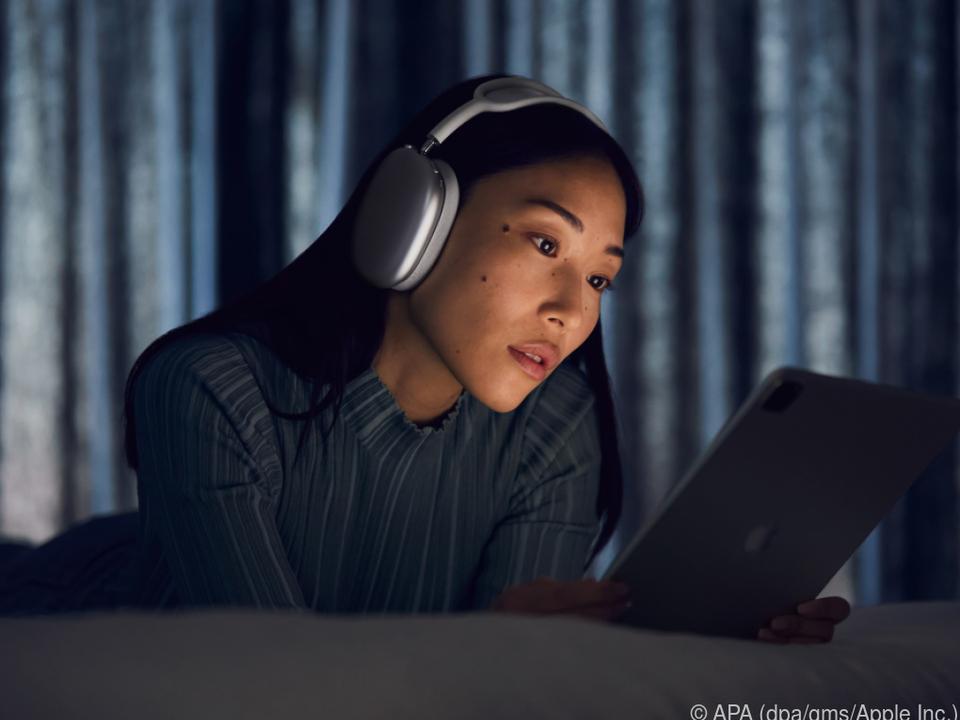 Akustische Abschirmung ist bei Apples Airpods Max Programm