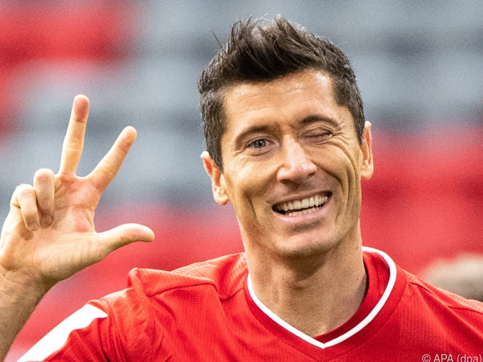 Triple-Gewinner Lewandowski