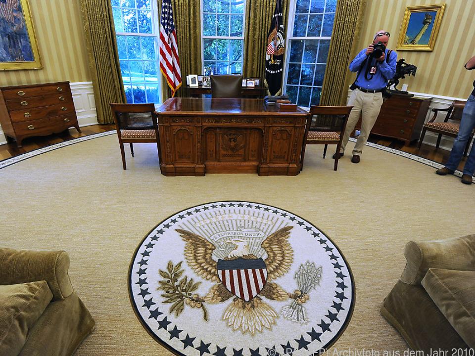 Teppich im Oval Office