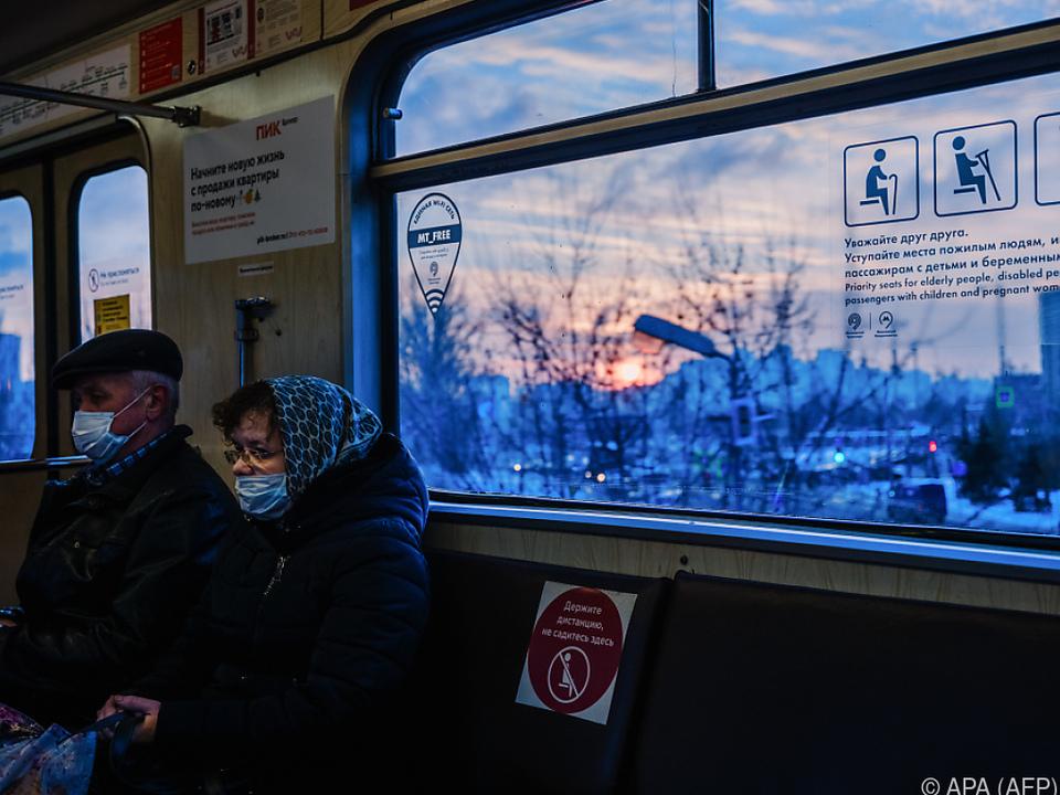 Alleine in Moskau wurden knapp 8.000 neue Fälle registriert
