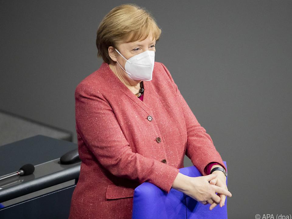 Angela Merkel ist für schärfere Corona-Maßnahmen