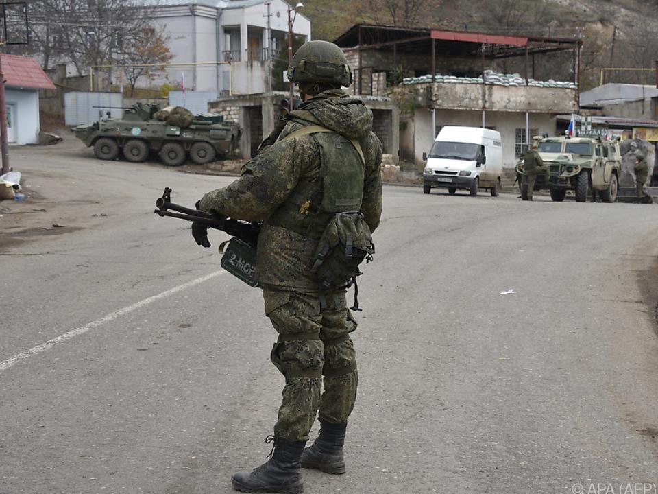 Aserbaidschans Militär war in der Nacht in die Region eingerückt