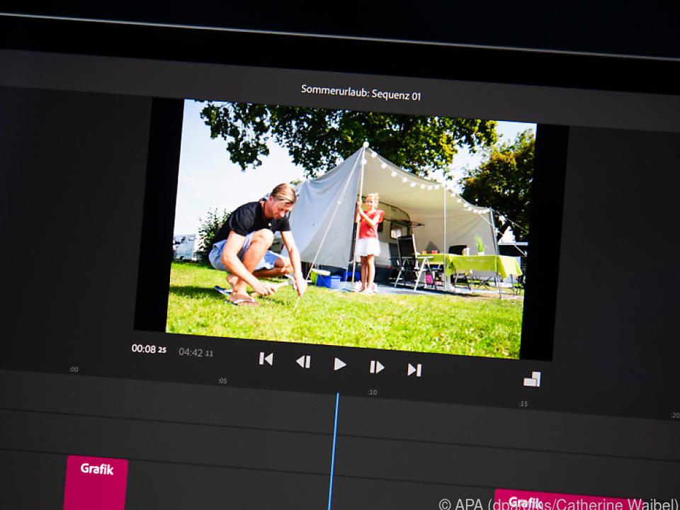 Videoschnitt auf dem Tablet: Den Urlaub in schönster Erinnerung behalten