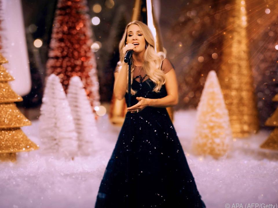 Auftritt von Carrie Underwood anlässlich der Preisverleihung