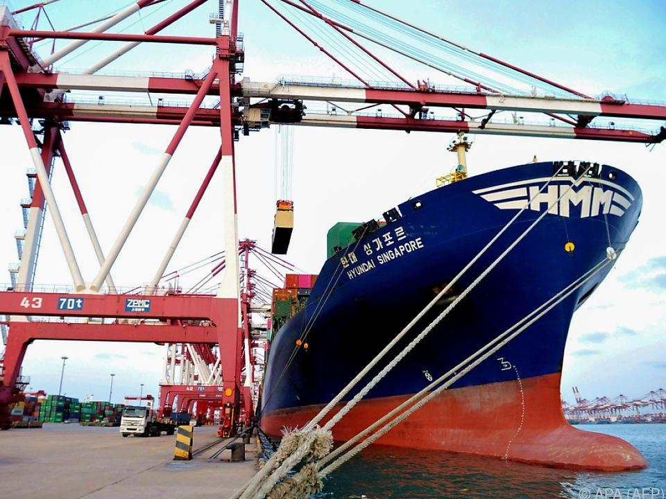 Außenhandel der Volksrepublik auf hohem Niveau
