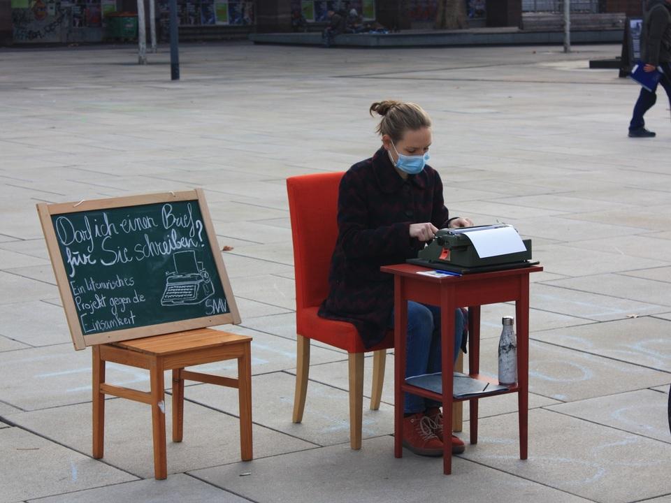 Autorin Eeva Aichner in Freiburg_(c)Eeva Aichner