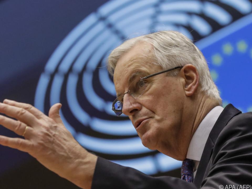 Barnier: Letzte Chance für Brexit-Abkommen