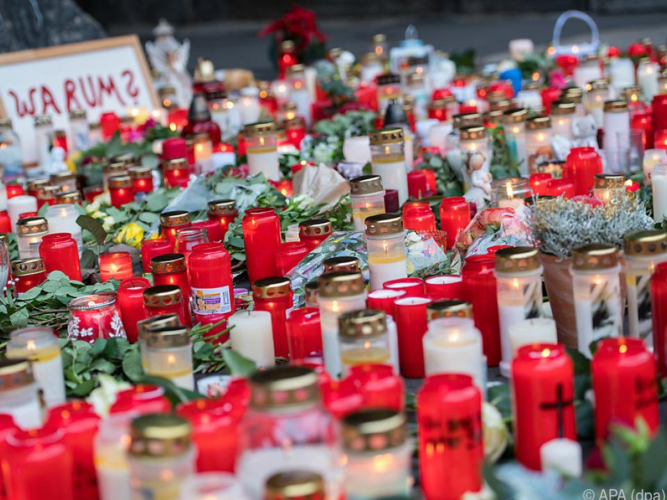 Bei der Amokfahrt waren am Dienstag fünf Menschen getötet worden