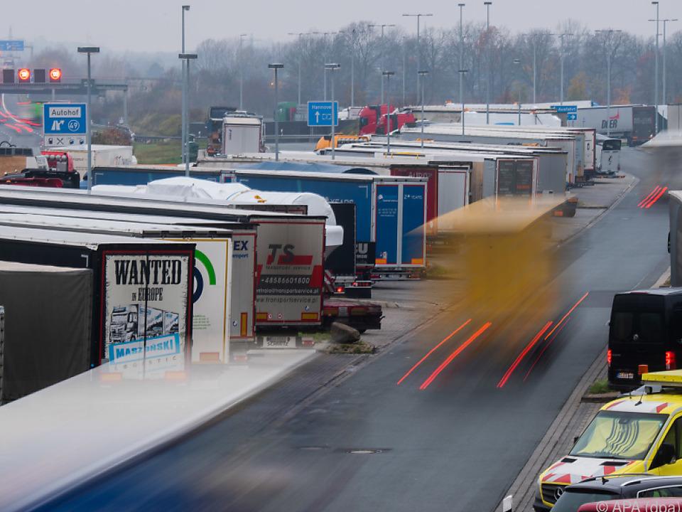 Bei der Richtlinie geht es vor allem um den Lkw-Verkehr