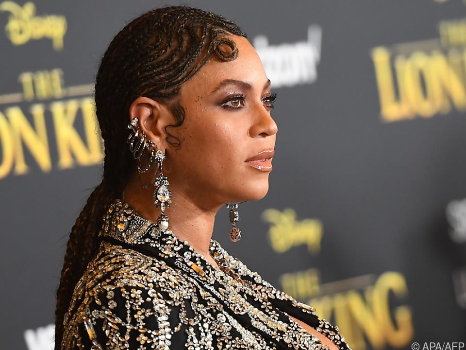 Beyonce hilft mit ihrer \