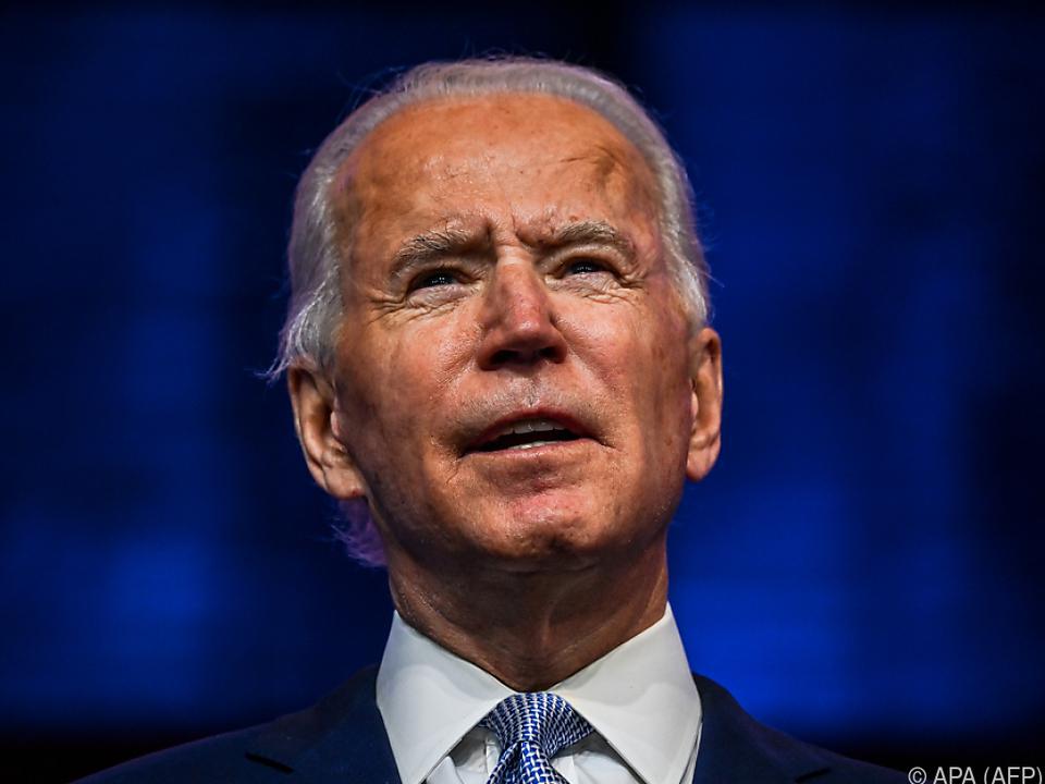 Biden erklärte Corona-Pandemie zu seiner dringlichsten Aufgabe