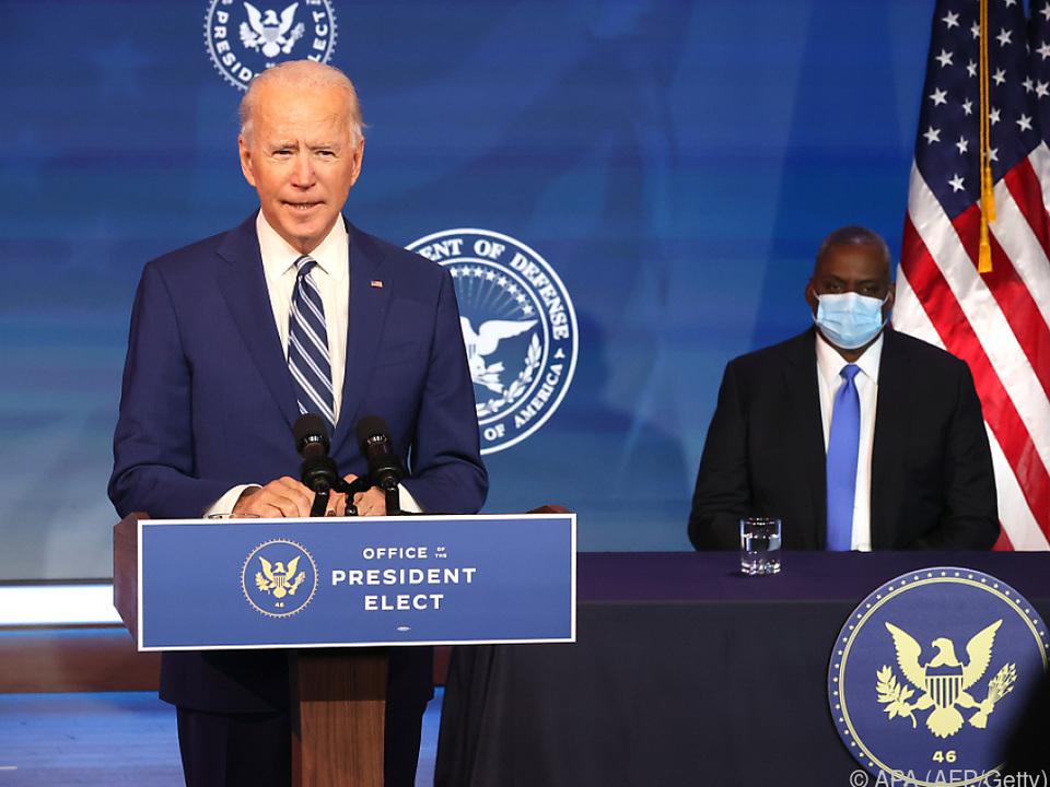 Biden präsentierte Lloyd Austin