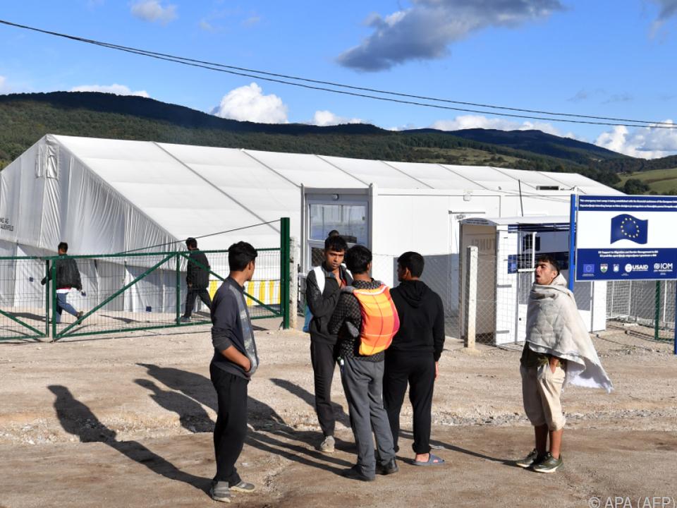 Flüchtlingslager Lipa vor Räumung