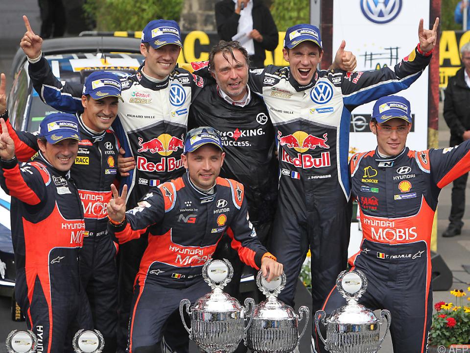 Capito feierte Erfolge u.a. im Rallyesport