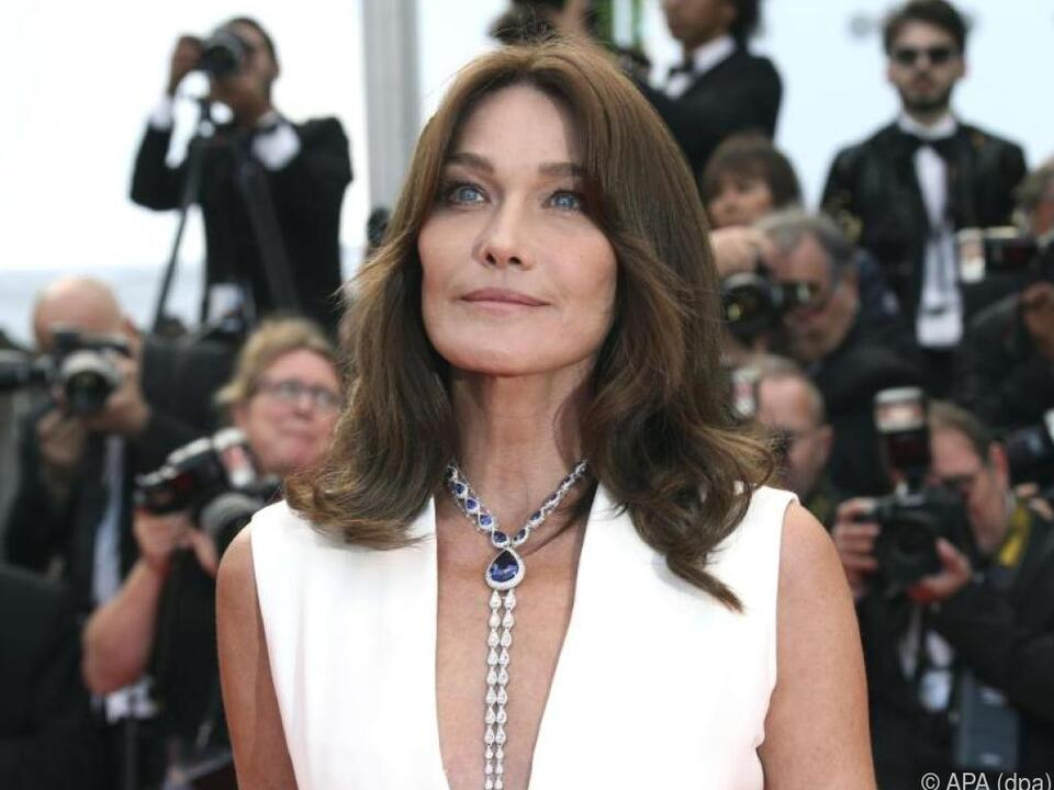 Carla Bruni-Sarkozy beim Filmfestival in Cannes