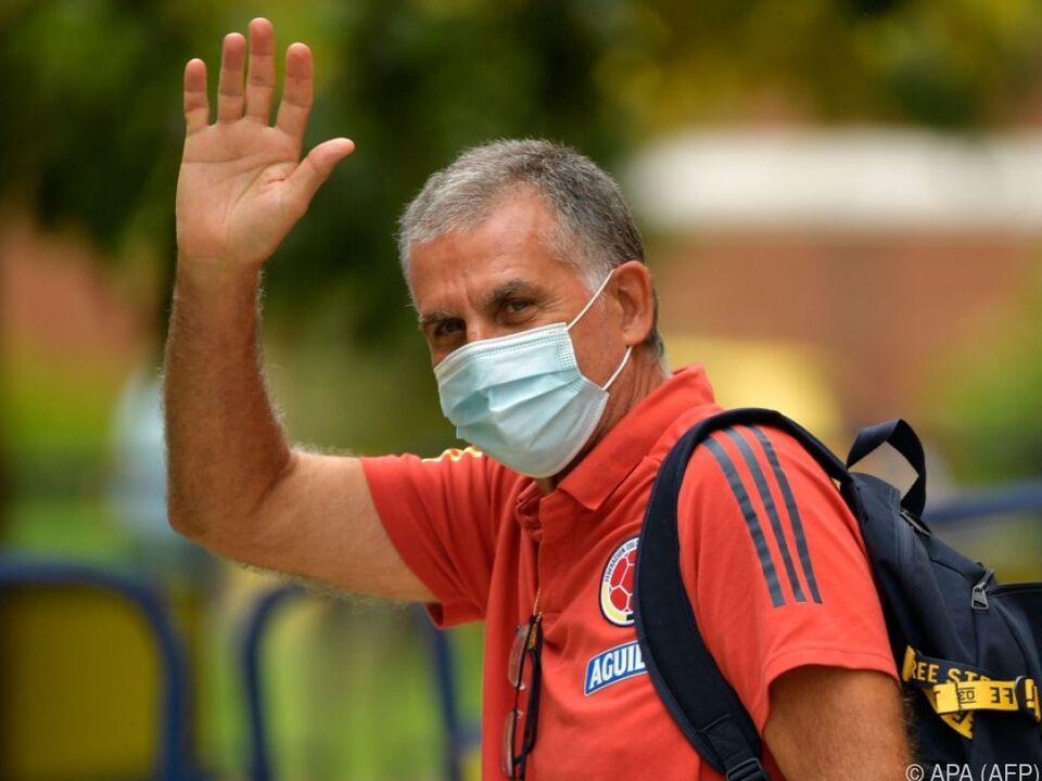 Carlos Queiroz sagt Adios