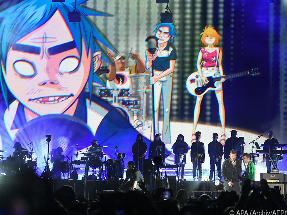 Cartoon-Band um Pop-Multitalent Damon Albarn