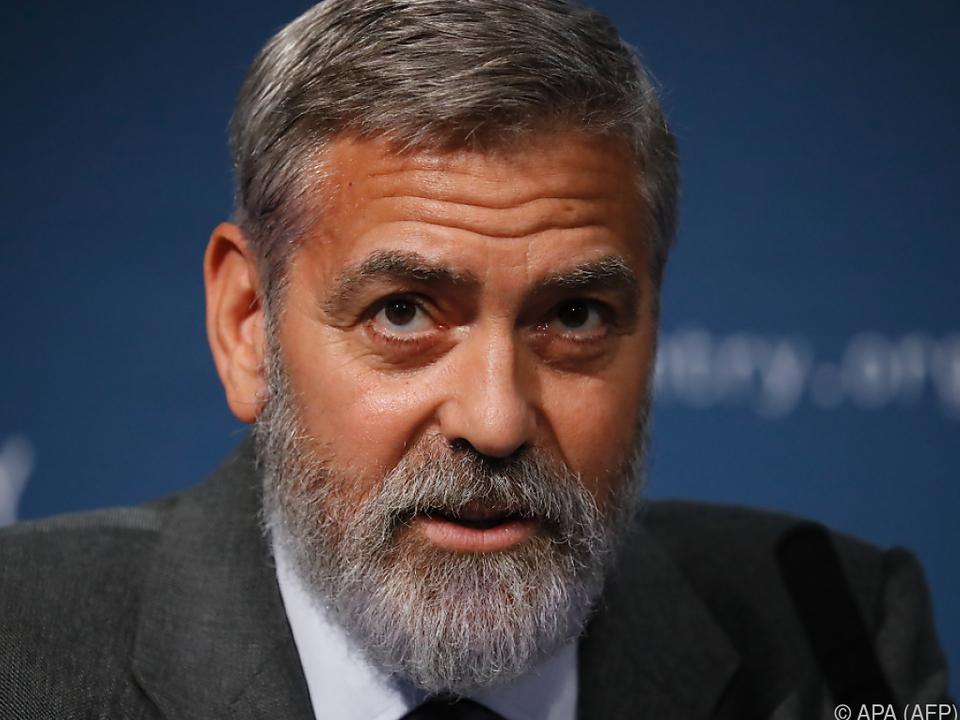 Clooney hofft auf eine dritte \