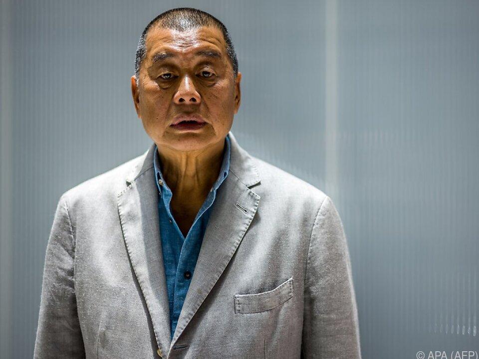 Jimmy Lai werden geheime Absprachen vorgeworfen