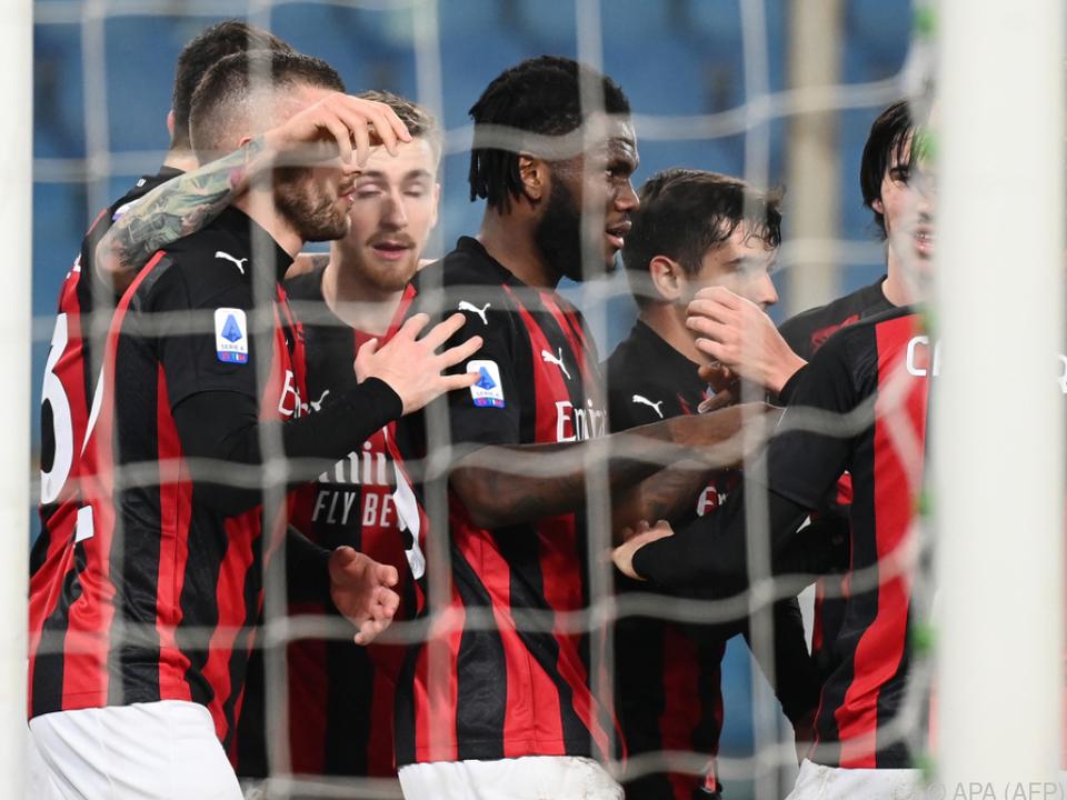 Der AC Milan fuhr den nächsten Sieg ein