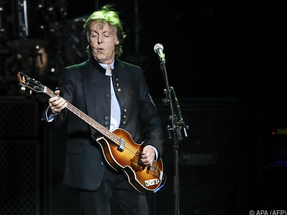 Der Ex-Beatle veröffentlichte \