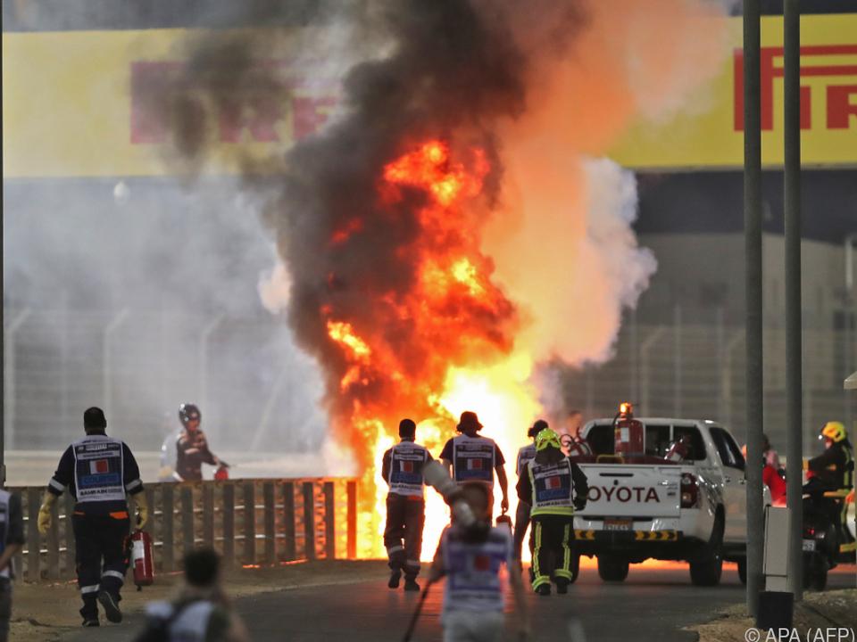 Der Feuerunfall hatte weltweit für Entsetzen gesorgt